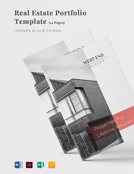 Real Estate Portfolio Template