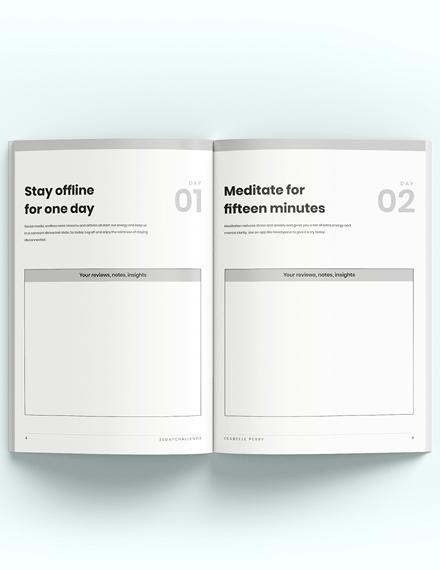 Day Challenge Workbook Download