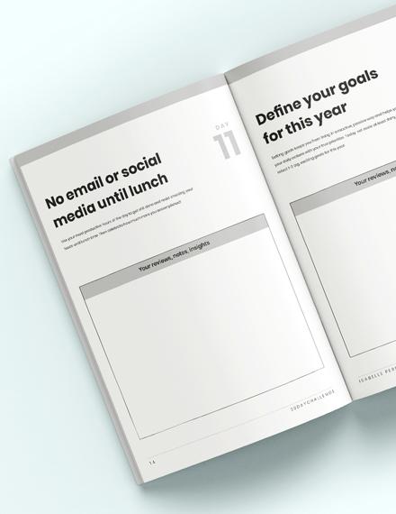Sample  Day Challenge Workbook