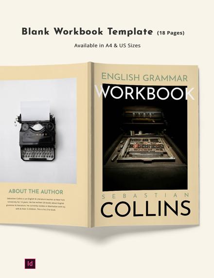 Blank Workbook Template