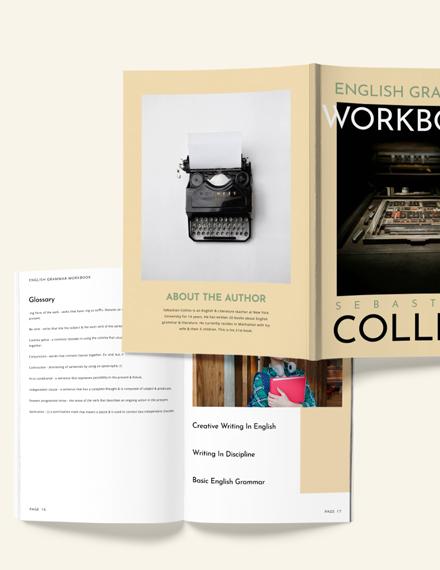 Blank Workbook Download