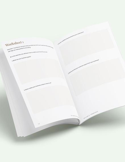 Branding Workbook Download
