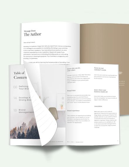 Branding Workbook Template
