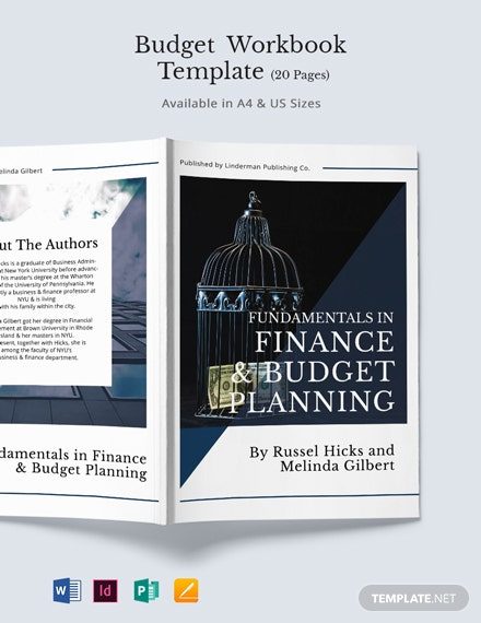 Budget Workbook Template