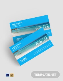 Free Travel Agency Business Card Template