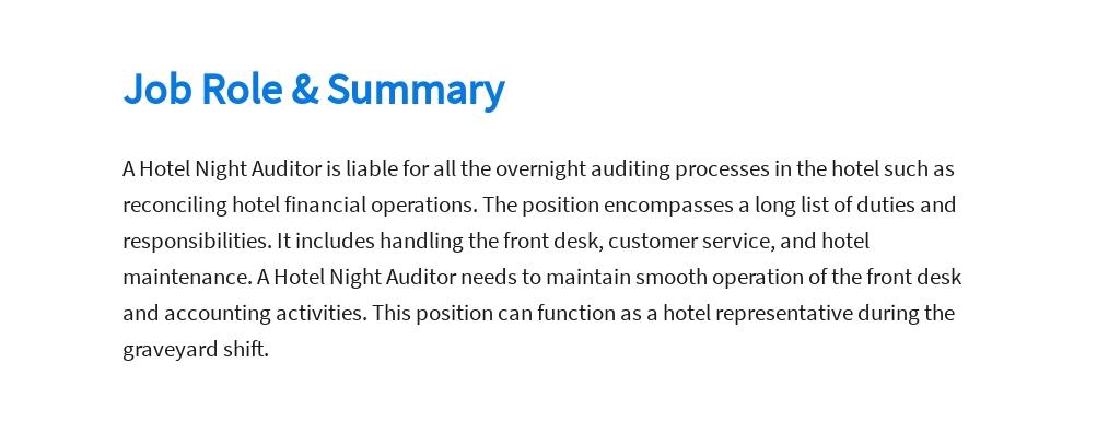 Free Hotel Night Auditor Job Ad/Description Template 2.jpe