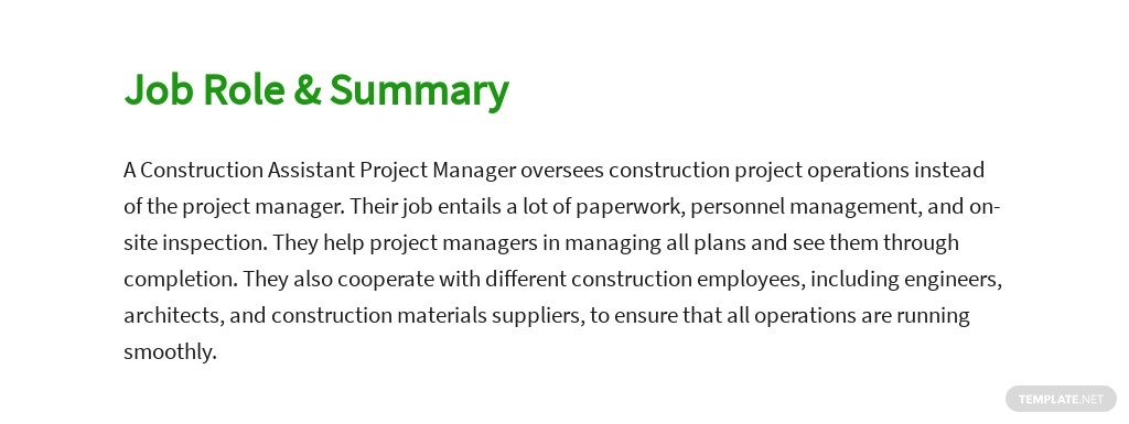 Free Construction Assistant Project Manager Job Ad and Description Template 2.jpe