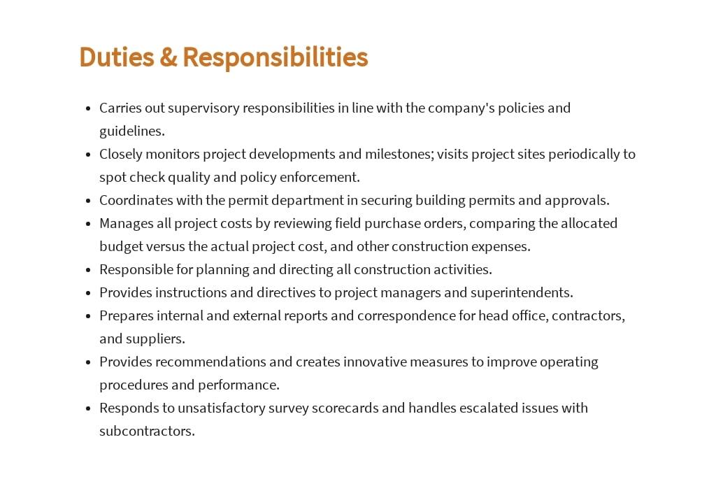 Free Construction Executive Job Ad/Description Template 3.jpe