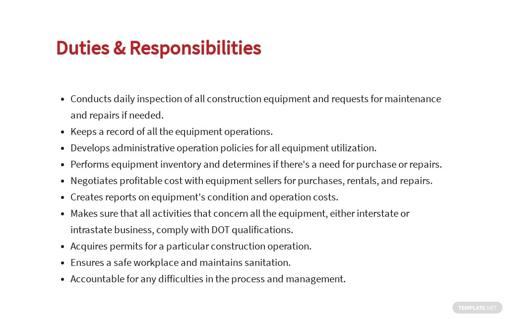 Free Construction Equipment Manager Job Ad and Description Template 3.jpe