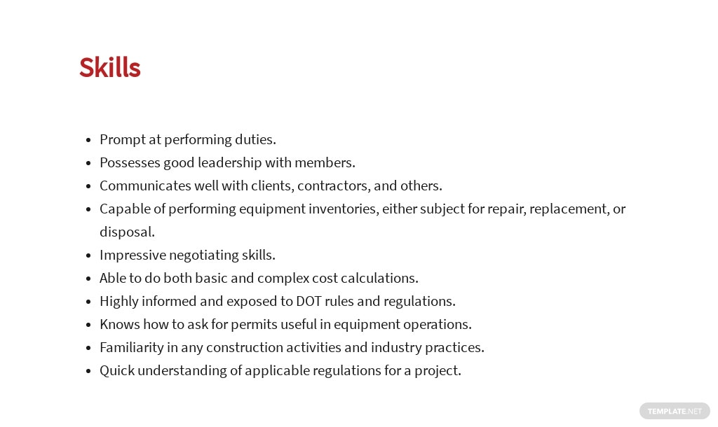 Free Construction Equipment Manager Job Ad and Description Template 4.jpe