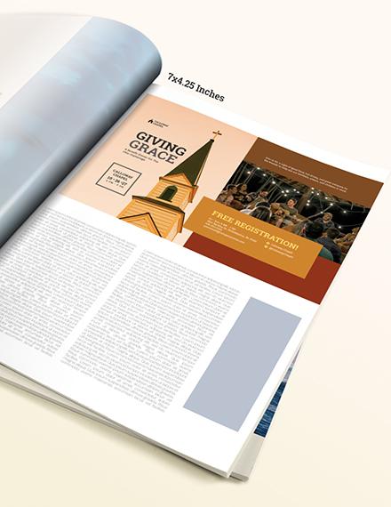 Autumn Church Magazine Ads Download