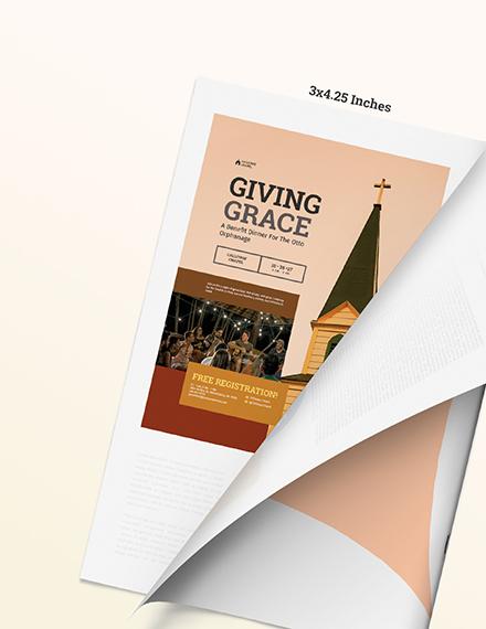 Sample Autumn Church Magazine Ads