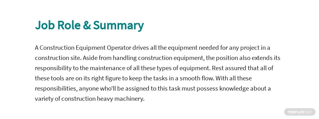 Free Construction Equipment Operator Job Ad and Description Template 2.jpe