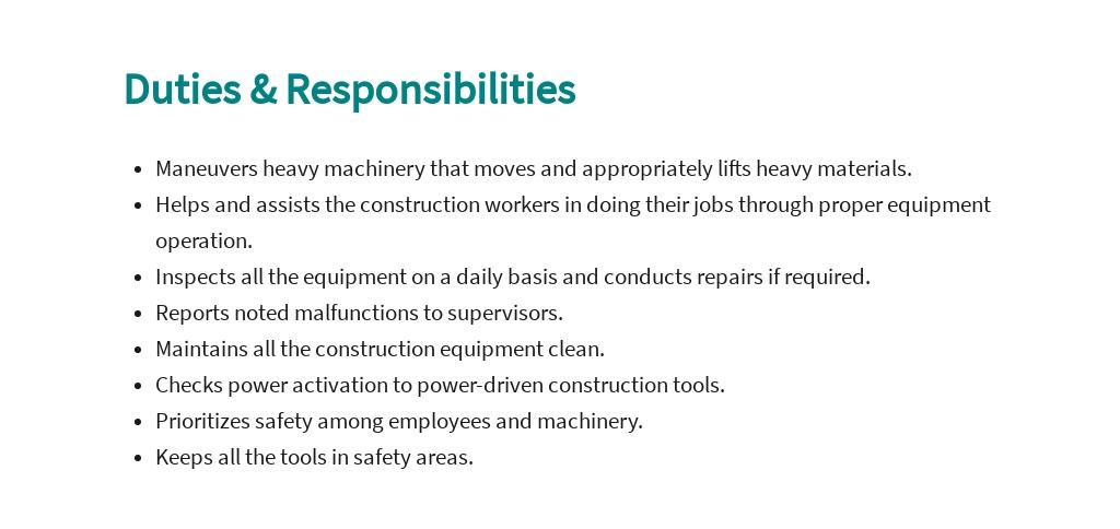 Free Construction Equipment Operator Job Ad and Description Template 3.jpe