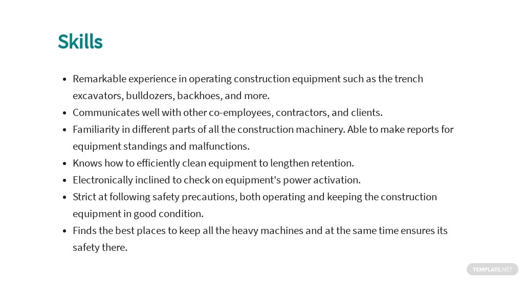 Free Construction Equipment Operator Job Ad and Description Template 4.jpe