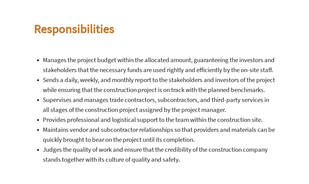 Free Construction Site Manager Job Description Template 3.jpe