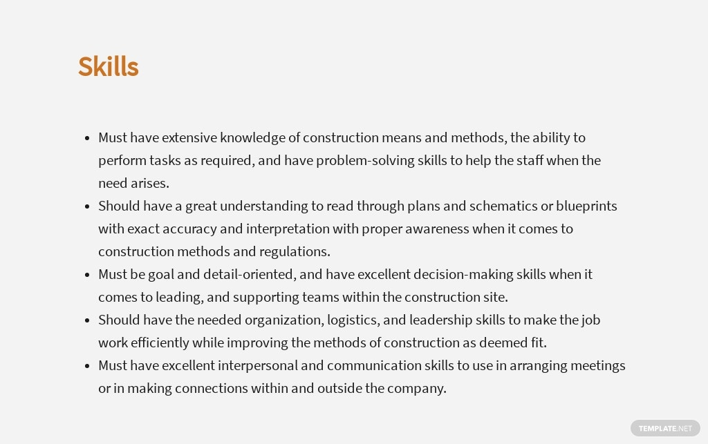 Free Construction Site Manager Job Description Template 4.jpe
