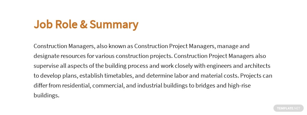 Free Construction Project Manager Job Ad and Description Template 2.jpe