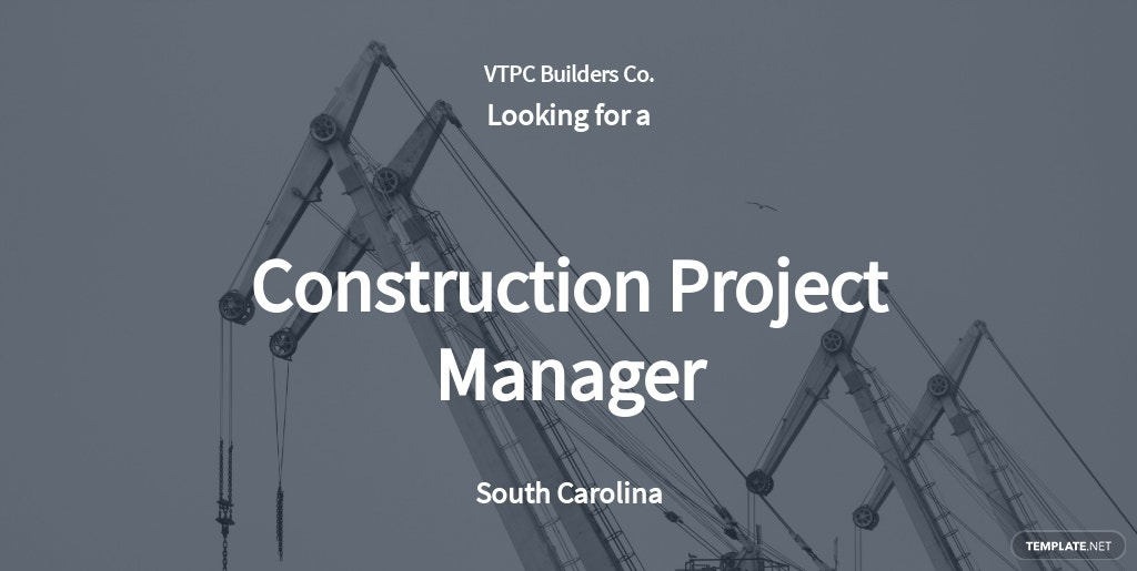 Free Construction Project Manager Job Ad and Description Template.jpe