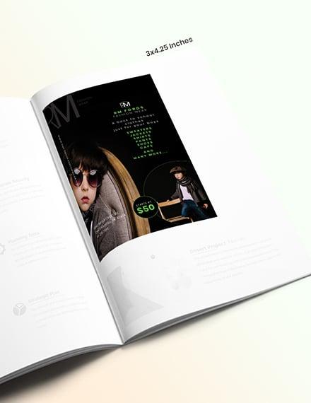 Back to School Magazine Ads Example