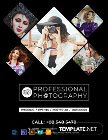 Free Creative Photography Flyer Template