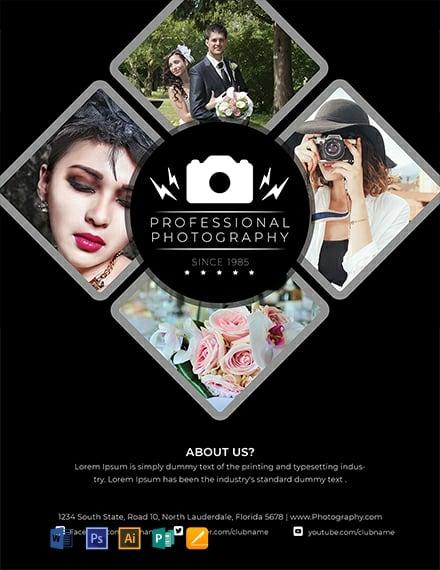 Modern Photography Flyer Template