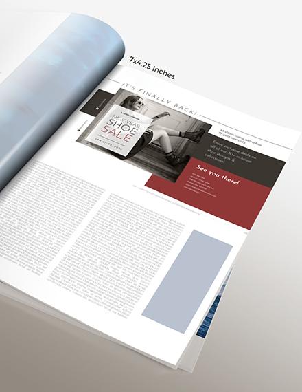 Basic Fashion Magazine Ads Download