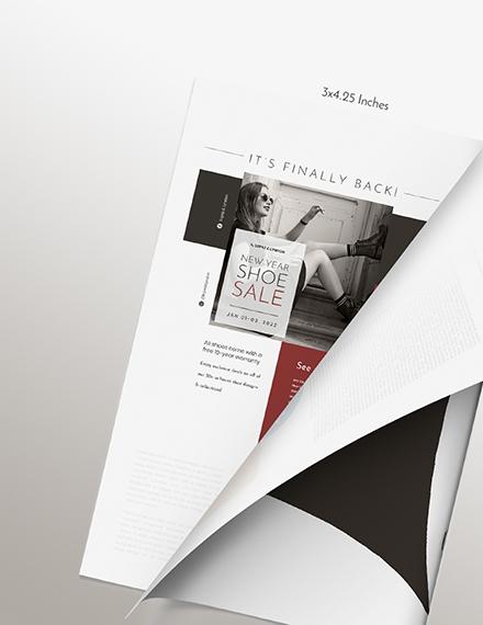 Sample Basic Fashion Magazine Ads