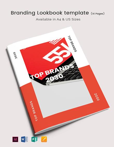Branding Lookbook Template