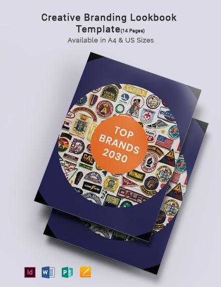 Creative Branding Lookbook Template