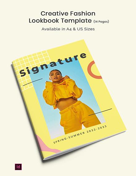 creative fashion lookbook