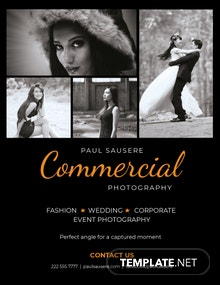 Free Commercial Photography Flyer Template