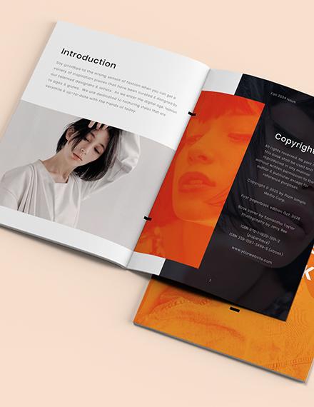 Creative Photography Lookbook Template