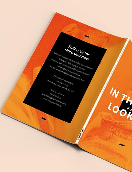 Sample Creative Photography Lookbook