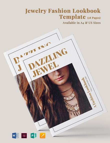 Jewelry Fashion Lookbook Template