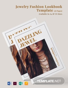 Jewelry Fashion Lookbook Template