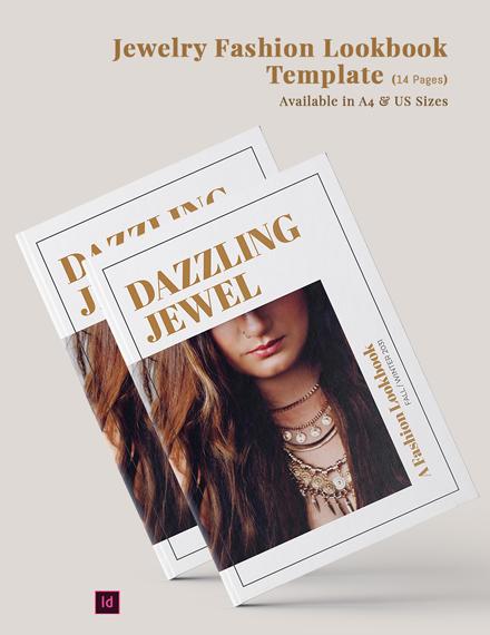 jewelry fashion lookbook