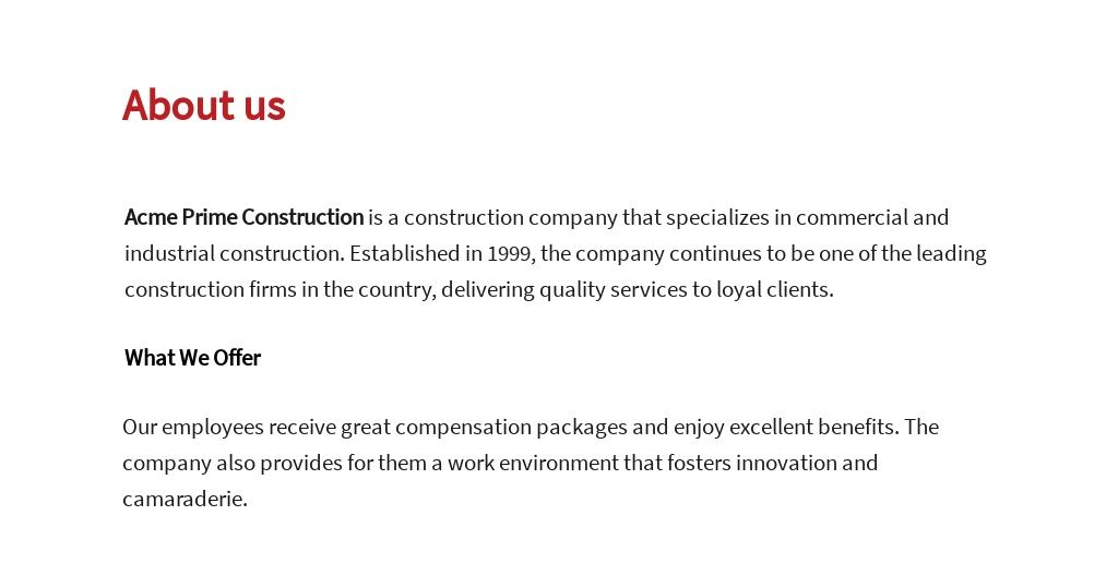 Free Construction Subcontractor Job Ad/Description Template 1.jpe