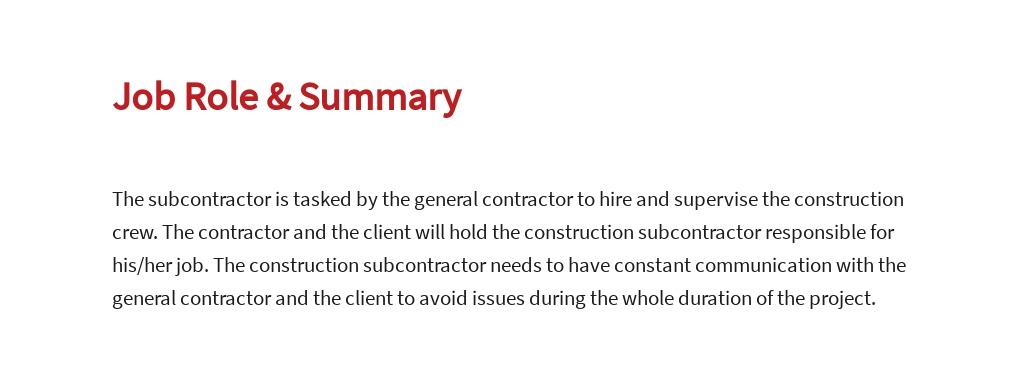 Free Construction Subcontractor Job Ad/Description Template 2.jpe