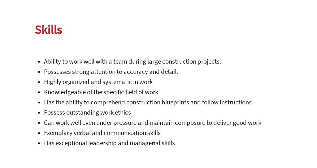 Free Construction Subcontractor Job Ad/Description Template 4.jpe