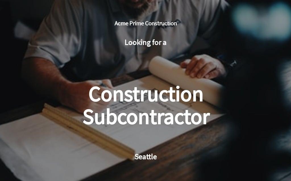 Free Construction Subcontractor Job Ad/Description Template.jpe