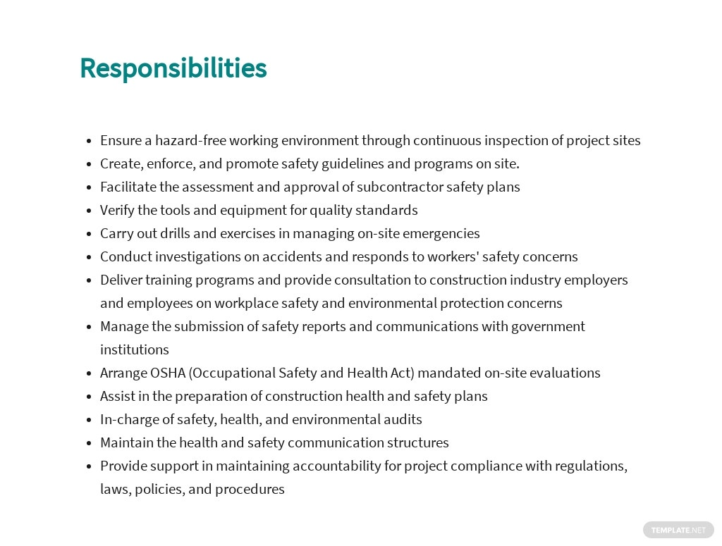 Free Construction Safety Officer Job Ad and Description Template 3.jpe