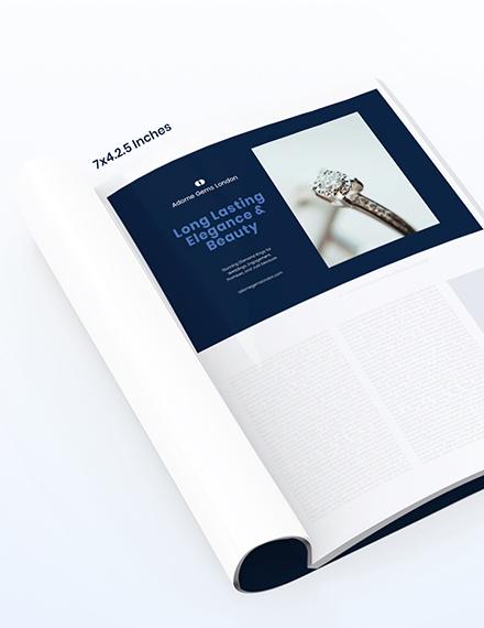 Basic Magazine Ads Template