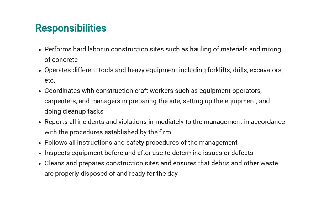 Free Construction Laborer Job Description Template 3.jpe
