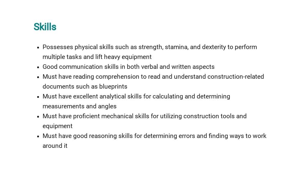 Free Construction Laborer Job Description Template 4.jpe