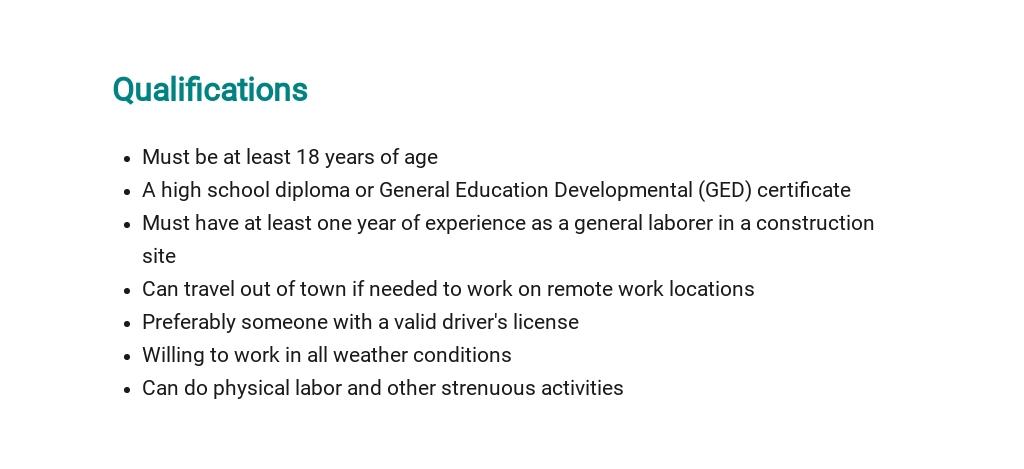 Free Construction Laborer Job Description Template 5.jpe