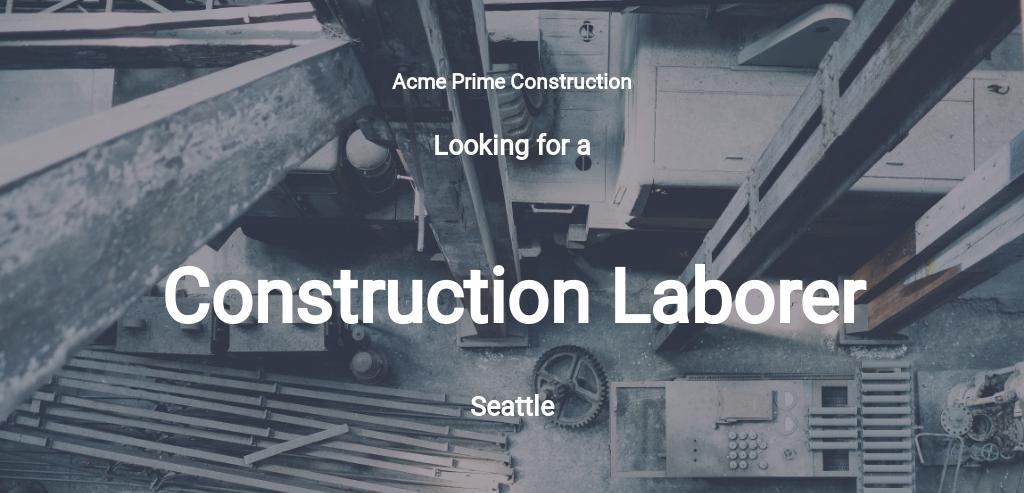 Free Construction Laborer Job Description Template.jpe
