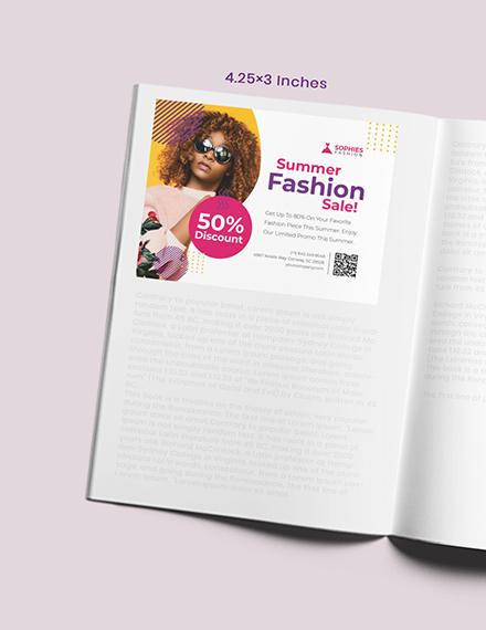 Creative Magazine Ad Example
