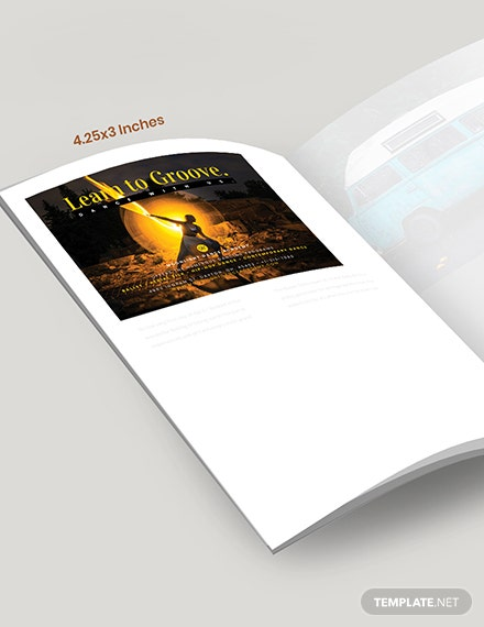 Sample Dance School Magazine Ad