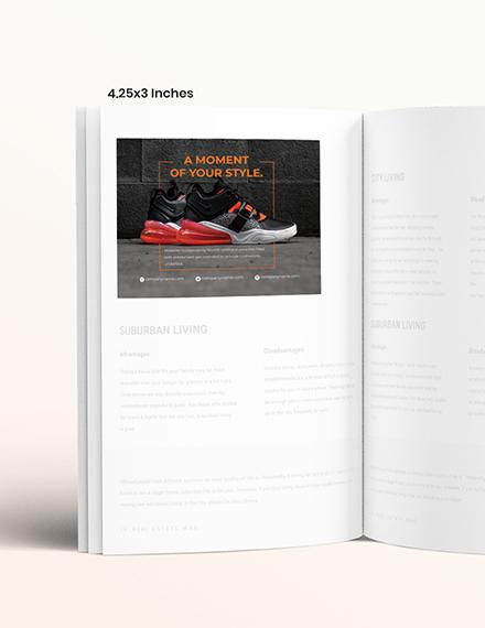 Basic Product Magazine Ads Example